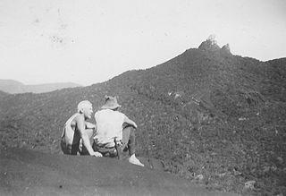 Mount Pieter Botte mountain in Australia