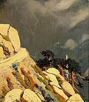 Jimmy Swinnerton - Mountain Road c.1915