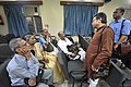Mrinal Gupta Talks With Attendees - 7th Benu Sen Memorial Lecture - Kolkata 2018-05-26 0818.JPG
