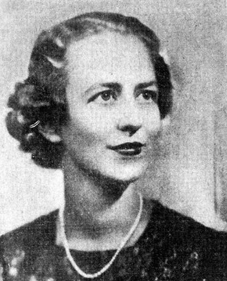 Charles Poletti - Jean Knox Ellis Poletti, President, New York State League of Women Voters, May, 1938. She resigned when her husband became a candidate for Lieutenant Governor