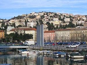 Sušak, Rijeka - Western part of Sušak