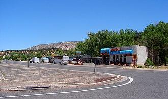 Mount Carmel Junction, Utah - Image: Mt Carmel Junction UT