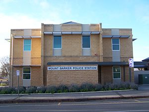 Mount Barker, South Australia - The 24-Hour Mount Barker police station