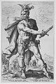 Mucius Scaevola, from the series The Roman Heroes MET MM92460.jpg