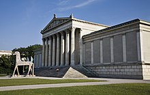 Munich - Trojan wooden horse at Königsplatz - 5440.jpg