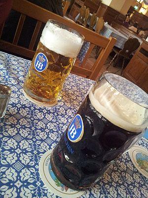 Munich Hofbräuhaus beer
