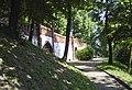 Mury obronne zamku - ul. Podgórna.JPG