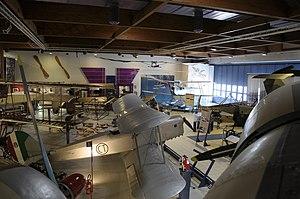 Museo dell'Aeronautica Gianni Caproni main hall from on board the S.79 (1).JPG