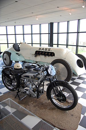 Pendine Museum of Speed - Inside the museum