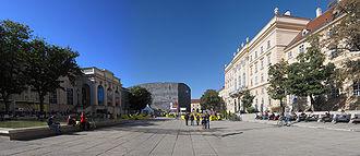 Museumsquartier - Museumsquartier panorama