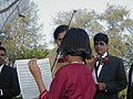 Musicians and singers get ready to take to the mando stage in Goa.jpg