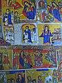 Muurschilderingen in een kerk aan het Tanameer in Ethiopië (6821424495).jpg