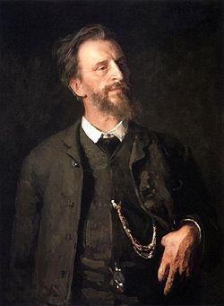 Портрет работы И. Репина (1904)