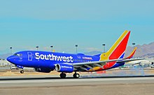 "N905WN Southwest Airlines 2008 Boeing 737-7H4 c-n 36617 ""Kidd's Kids"" ""Kiddkraddick in The Morning"" (15773289823).jpg"