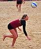 NCAA sand volleyball match at FSU, April 2014 (13921066086).jpg