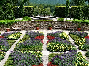 North Carolina Arboretum - Blue Ridge Quilt Garden