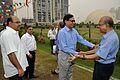 NCSM Dignitaries with Samaresh Goswamy - MSE Golden Jubilee Celebration - Science City - Kolkata 2015-11-17 4884.JPG