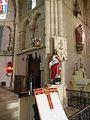 ND du bon secours & st Louis Verdon statue christ.JPG