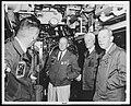 NH 62068 Fleet Admiral C.W. Nimitz, USN, and Officers.jpg