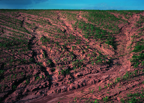 what are different types of soil erosion