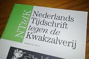 Vereniging tegen de Kwakzalverij - Cover Nederlands Tijdschrift tegen de Kwakzalverij 125 (3).
