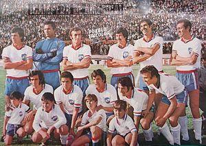 A equipe do Nacional que conquistou a Copa Libertadores da América de 1971 0c47b92ff981e