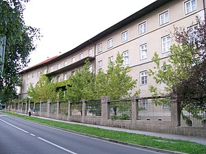 Gymnasium (school) - Archdiocesan Classical Gymnasium in Zagreb, Croatia
