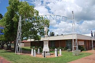 Nanango - Nanango War Memorial