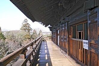 Nanzen-ji - View from the second story of the Nanzen-ji Sanmon