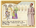 Napoleon XIV gives the fountain to Mahmoud Ali.jpg