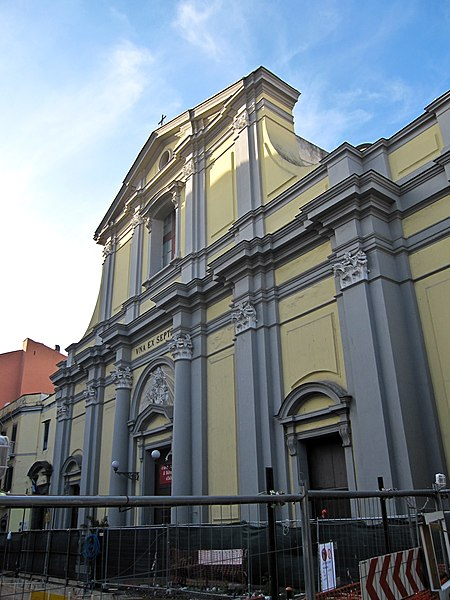 File:Napoli - Chiesa di Santa Maria degli Angeli a Pizzofalcone4.jpg