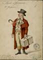 Napoli di Carnovale, costume design for Don Gasperone.png