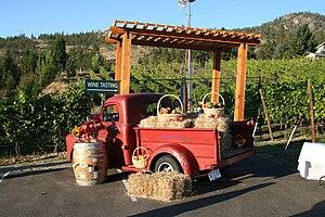 Naramata, British Columbia - A wine tasting in Naramata wine country