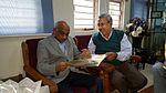 Narayan Ramdas Iyer with A. S. Kiran Kumar, Chairman ISRO.jpg