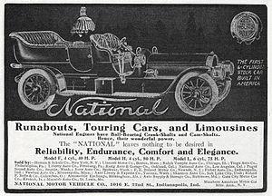 National Motor Vehicle Company - National Six - 1907.