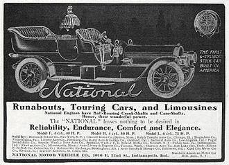 National Motor Vehicle Company - National Six - 1907.