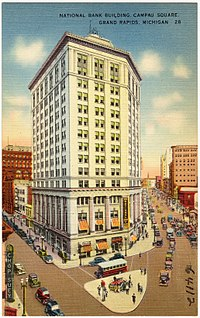 National Bank Building, Campau Square, Grand Rapids, Michigan (64112).jpg