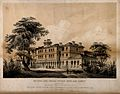 National Orphan Home, Ham, Surrey; side view. Lithograph, c. Wellcome V0014710.jpg