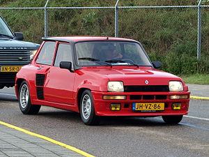 Renault 5 Turbo - Image: Nationale oldtimerdag Zandvoort 2010, 1981 RENAULT 5 TURBO, JH VZ 86 pic 2