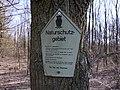 Naturschutzgebiet, Kennzeichnung in der DDR.jpg