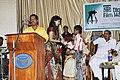 Navin Krishna receives actress Malavika Wales.jpg