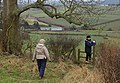 Negotiating the stile - geograph.org.uk - 1700217.jpg