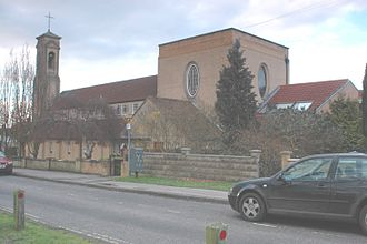 New Marston - Image: New Marston St Michael&All Angels southeast