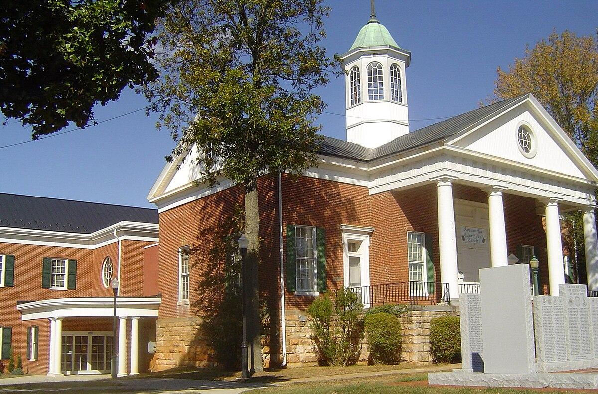 Appomattox county virginia wikipedia for Virginia house
