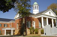 The Appomattox County Courthouse in October 2007