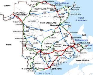 Cartina Stradale Scozia Pdf.Nuovo Brunswick Wikipedia