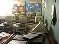 New Orleans School after Hurricane Katrina Federal Flood - June 2006 - Computer Room.jpg