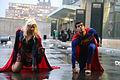 New York Comic Con 2015 - Supergirl & Superman (22074856321).jpg