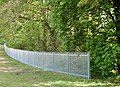 New fence round quarry, Stockton - geograph.org.uk - 1273891.jpg