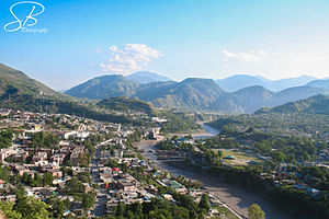 New muzaffarabad city view.JPG